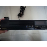 Reproductor Vhs Panasonic, Funciona, Control Remoto Clasico