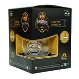 Estuche Cerveza Apostol Bock (negra) Mas Copa