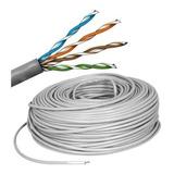 Cable Utp Categoría 5e Cca Aleación Aluminio Cobre X Metro