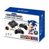 Consola De Juego Clásico Sega Génesis Con 81 Videojuegos