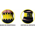 Cinturilla Hot Belt Power - Ajustable - Negro