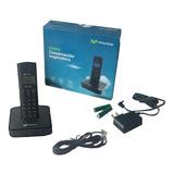 Telefono Inalambrico Negro 6.0 Con  Identificador Altavoz