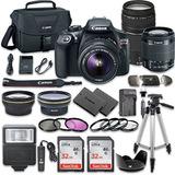 Paquete De Camara Canon Eos Rebel T6 Dslr Con Canon Ef-s 18-