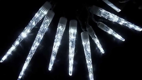 7d5cf5de089 Luz Hielo Luz Cortina O Cascada Instalación Luz Blanca