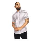 Camisa Para Hombre Manga Corta Damario Estampado