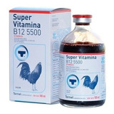 Super Vitamina B12 5500 Gallos 100 Ml Tornel 100 Ml Original