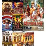 Saga Completa De Age Of Empires Gold  2, 3 Mas  Expansiones