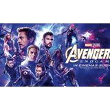 Pelicula Avengers: Endgame Calidad Cam Audio Latino