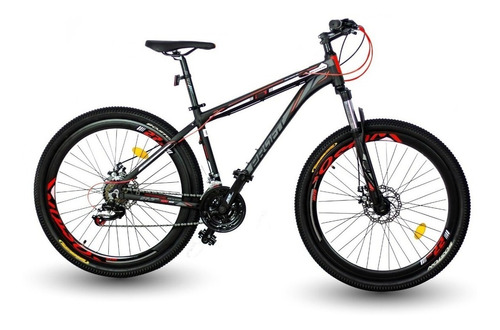 Bicicleta Optimus Boston 2019 Shimano 7vl. 27/29 Mecanica