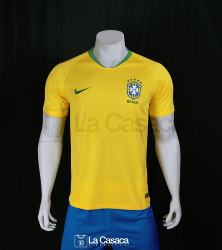 9d951a96 Camiseta Seleccion Brasil Local 2018 Neymar Jr Mundial