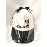Sorpresa Infantil Mickey Mouse Y Minnie Gorra Personalizada