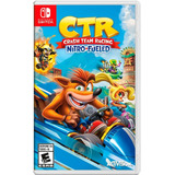 Crash Team Racing Switch Nitro Juego Nintendo Crash Ctr