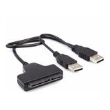 Cable Convertidor Sata A Usb 2.0 Para Discos Duros 2.5