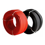 Cable Solar Fotovoltaico (10awg - 6mm) Centelsa Rojo Y Negro