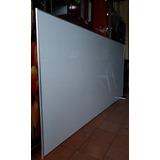 Tablero Acrilico Cuadriculado 2.44 X 1.23 Perfil En Aluminio