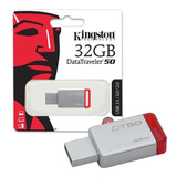 Memoria Usb 3.0 Kingston Dt50 32gb 100% Original Garantizada