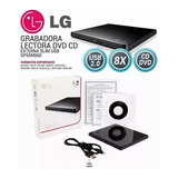 Unidad Lg Dvd Cd Externa Quemadora Portatil Usb Ultra Slim