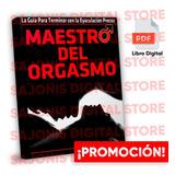 Maestro Del Orgasmo (original) + Regalos