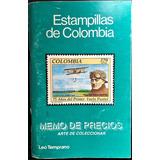 Estampillas De Colombia Lista De Precios Leo Temprano 1996