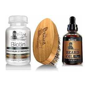 Beard Growth Beard Kit De Barba De Aceite Beard Conditioner