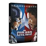 Dvd Capitan America : Civil War - Avengers