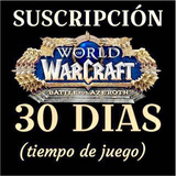 Ficha Wow World Of Warcraft O 30 Dias - Reinos Americanos