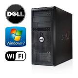 Cpu Dell Optiplex Intel Dual Core 2.5ghz/dd80gb/ddr3 2gb