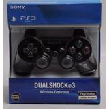 Control Ps3 Dualshock 3  Playstation 3 Negro