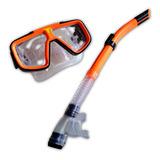 Snorkel + Mascara De Buceo