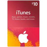 Tarjeta Itunes Apps Store 10 Usd Entrega Inmediata