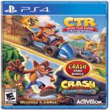 Juego Crash Team Racing + Crash Bandicoot N.sane Trilogy Ps4