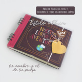 Our Adventure Book Libro Up- Personalizado Totalmente