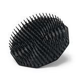 Scalp Shampoo Brush Black Firm Bristles Hair Scalp Massager
