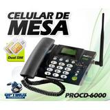 Teléfono Celular De Mesa Pro Electronics Dual Simcard