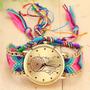 Reloj Para Mujer Tejido A Mano Sin Pulserita Atrapa Sueños