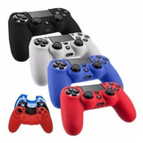 Forro Silicon Funda Protector Control Ps4 + 2 Sticks Gratis