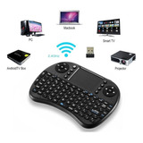 Mini Teclado Inalámbrico Touchpad Qwerty Smart Tv Box Laptop