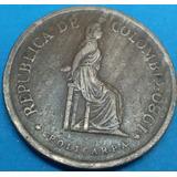 Colombia Moneda 5 Pesos 1980