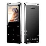 Mp4 Bluetooth Metálico 8gb Pantalla 2.4  Fm Video Graba Voz