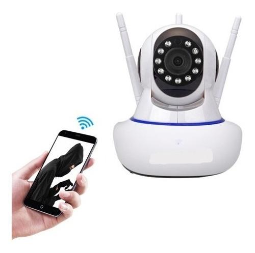 Camara Ip Wifi Vision Nocturna Seguridad 1080p 2mp 3 Antenas