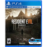 Resident Evil 7 Biohazard Ps4 Fisico Sellado Nuevo Promo