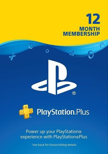 Playstation Psn Plus 420 Dias 1 Año (aprovecha La Oferta)