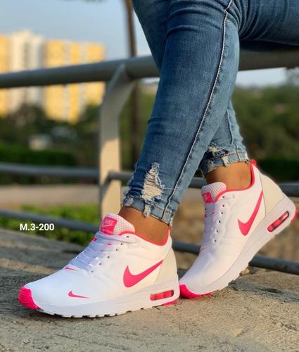96fd9cd7b21 Zapatillas Tenis Nike Tavas Para Damas Ofertas Especiales.   70000