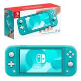 Nintendo Switch Lite Azul Gris Amarillo 1 Año De Garantia