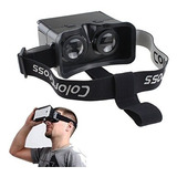 Gafas De Video 3d De Realidad Virtual De Google Agptek Black