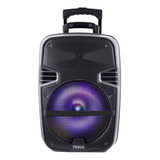 Parlante Karaoke 8 Watts Bluetooth Y Microfono 12 Tedge