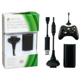 Kit Carga Y Juega Xbox 360 8000 Mah Garantizado Economico