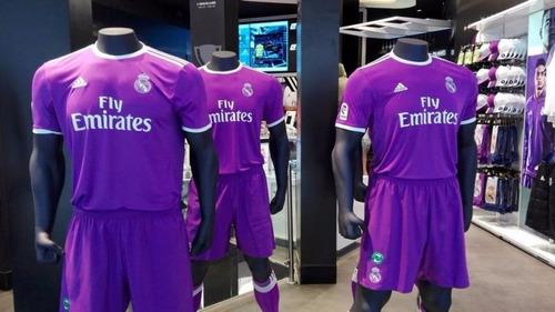Uniforme Real Madrid Visitante Niño 2016 2017 c6c11f3832b79