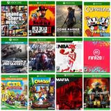 Tres Juegos - Oferta, Escoge 3 Juegos Offlin Xbox One