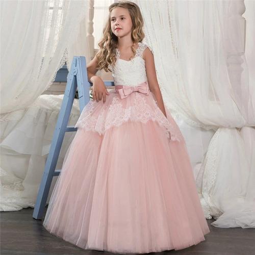 e135ccf9731 Vestido Primera Comunión-princesa-cumpleaños-coctel-fiesta